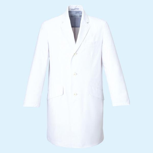 ミズノ ユナイト ドクターコート(男性用) ホワイト M MZ0025 医療白衣 診察衣 薬局衣 1枚 (取寄品)