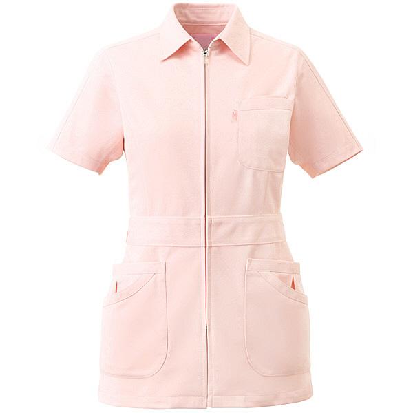 ミズノ ユナイト ジャケット(女性用) ピンク L MZ0044 医療白衣 ナースジャケット 1枚 (取寄品)