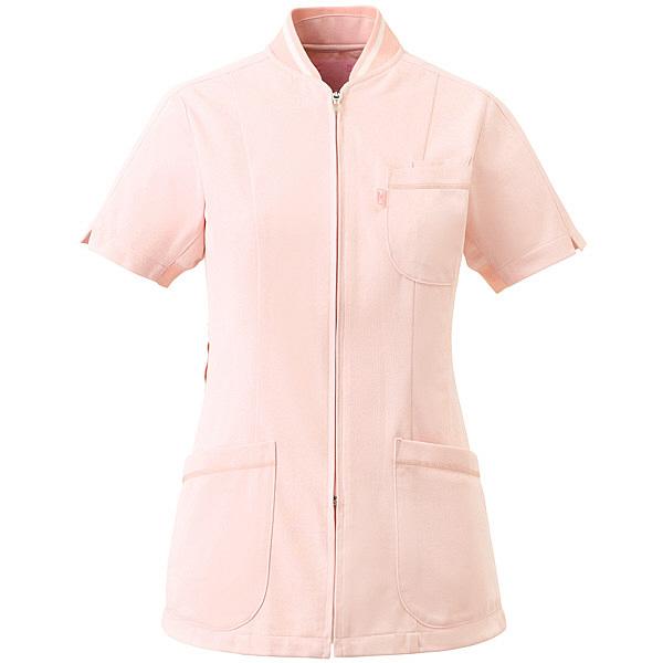 ミズノ ユナイト ジャケット(女性用) ピンク L MZ0045 医療白衣 ナースジャケット 1枚 (取寄品)