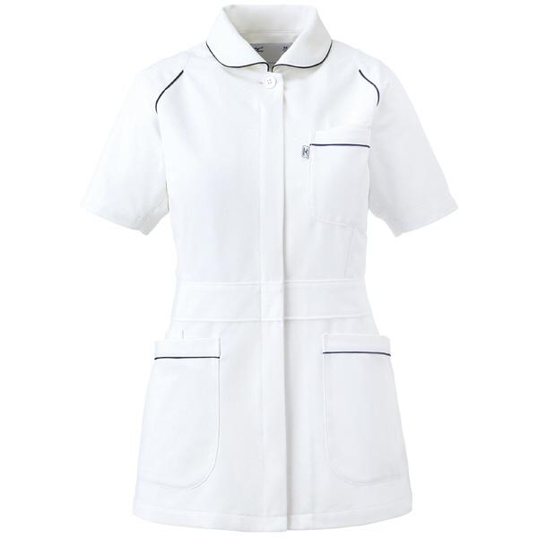 ミズノ ユナイト ジャケット(女性用) ホワイト LL MZ0046 医療白衣 ナースジャケット 1枚 (取寄品)