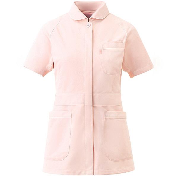 ミズノ ユナイト ジャケット(女性用) ピンク L MZ0046 医療白衣 ナースジャケット 1枚 (取寄品)