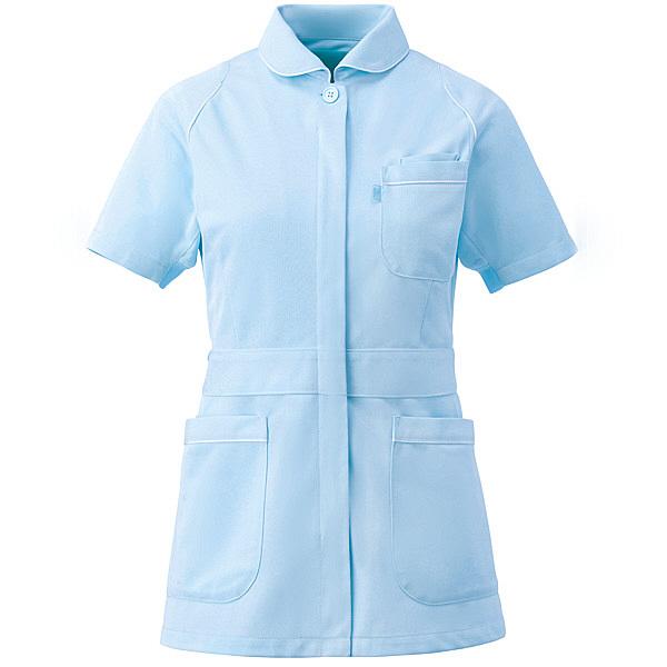 ミズノ ユナイト ジャケット(女性用) サックス M MZ0046 医療白衣 ナースジャケット 1枚 (取寄品)