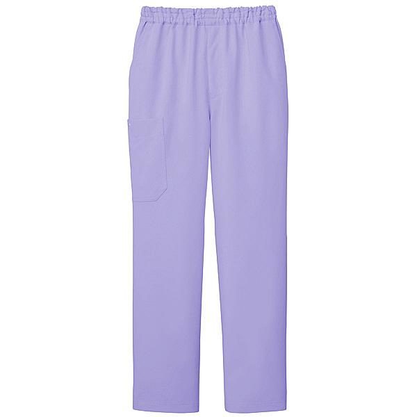 ミズノ ユナイト スクラブパンツ(男女兼用) ラベンダー L MZ0052 医療白衣 1枚 (取寄品)