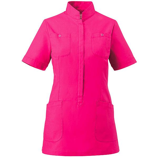 ミズノ ユナイト ジャケット(女性用) ショッキングピンク LL MZ0062 医療白衣 ナースジャケット 1枚 (取寄品)