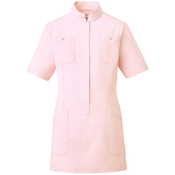 ミズノ ユナイト ジャケット(女性用) ピンク L MZ0062 医療白衣 ナースジャケット 1枚 (取寄品)