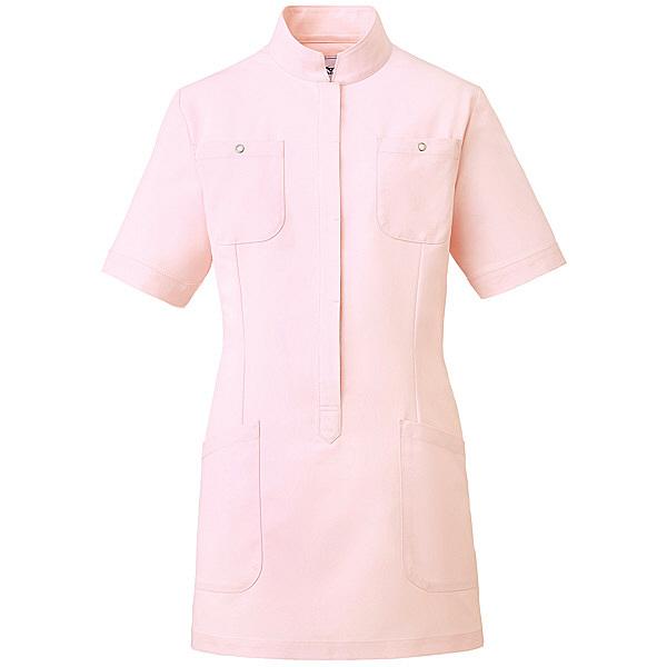 ミズノ ユナイト ジャケット(女性用) ピンク LL MZ0062 医療白衣 ナースジャケット 1枚 (取寄品)