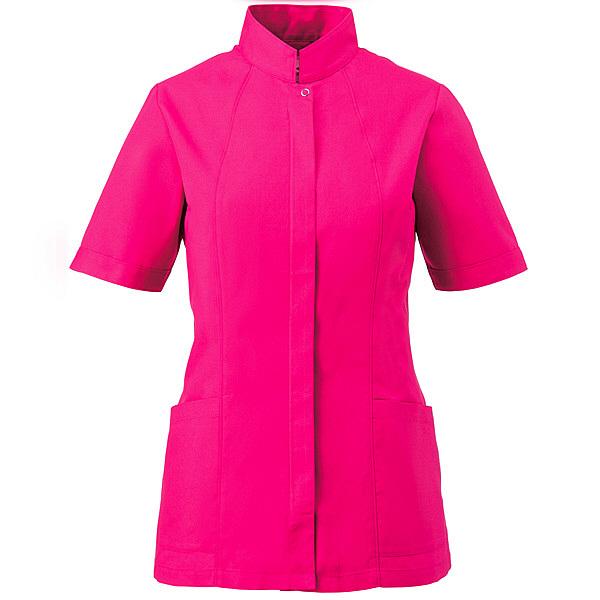 ミズノ ユナイト ジャケット(女性用) ショッキングピンク LL MZ0064 医療白衣 ナースジャケット 1枚 (取寄品)