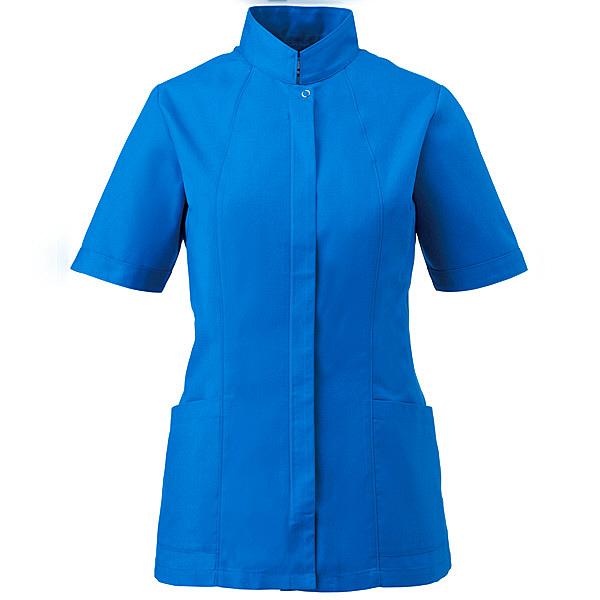 ミズノ ユナイト ジャケット(女性用) スカイブルー LL MZ0064 医療白衣 ナースジャケット 1枚 (取寄品)