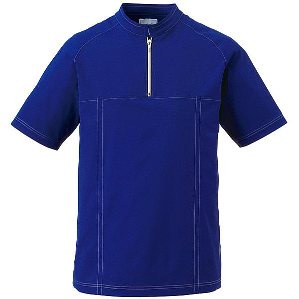 ミズノ ユナイト ジャケット(男性用) ネイビー LL MZ0065 医療白衣 1枚 (取寄品)