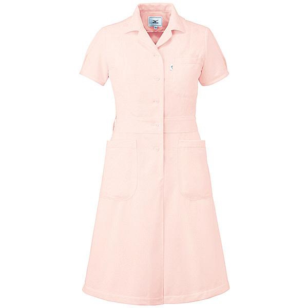 ミズノ ユナイト ワンピース(女性用) ピンク S MZ0067 医療白衣 ナースワンピース 1枚 (取寄品)