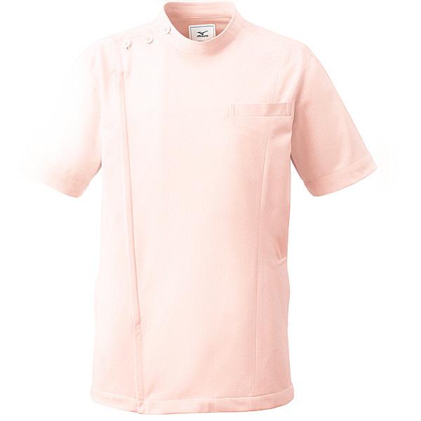 ミズノ ユナイト ケーシージャケット(男女兼用) ピンク L MZ0069 医療白衣 1枚 (取寄品)