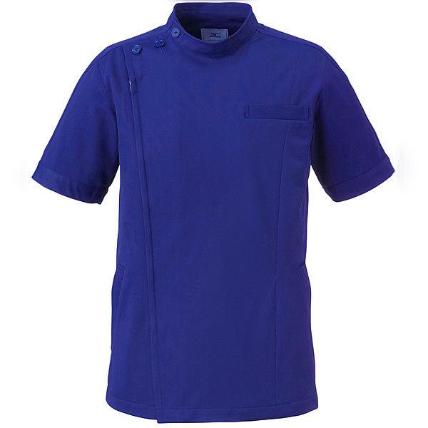 ミズノ ユナイト ケーシージャケット(男女兼用) ネイビー LL MZ0069 医療白衣 1枚 (取寄品)