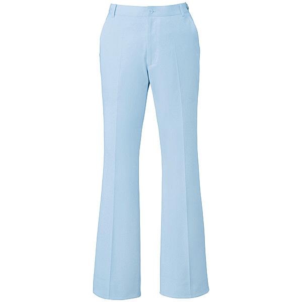 ミズノ ユナイト パンツ(女性用) サックス 4L MZ0070 医療白衣 ナースパンツ 1枚 (取寄品)