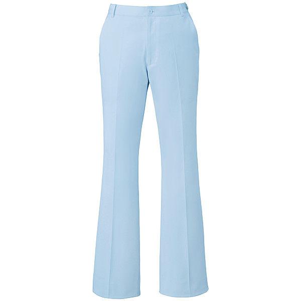 ミズノ ユナイト パンツ(女性用) サックス L MZ0070 医療白衣 ナースパンツ 1枚 (取寄品)