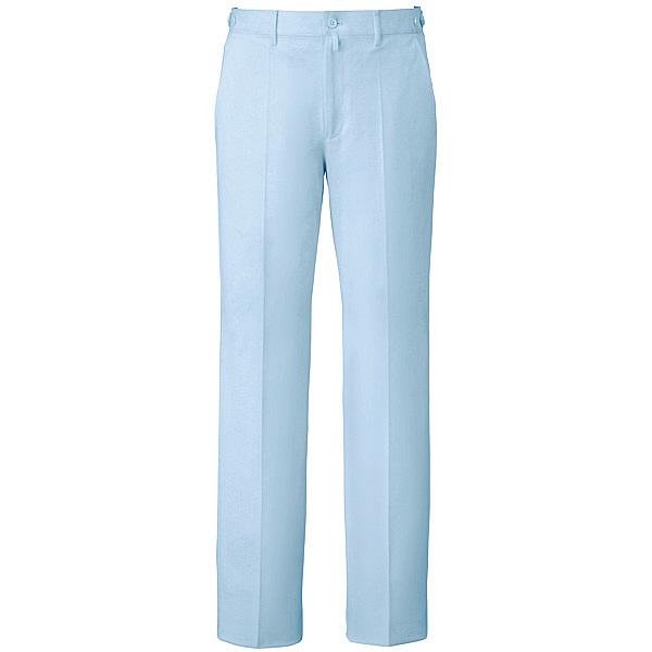 ミズノ ユナイト パンツ(男性用) サックス S MZ0071 医療白衣 メンズパンツ 1枚 (取寄品)