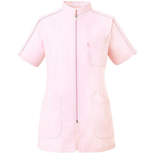 ミズノ ユナイト ケーシージャケット(女性用) ピンク M MZ0081 医療白衣 ナースジャケット 1枚 (取寄品)