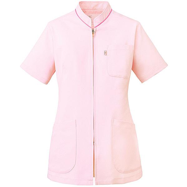 ミズノ ユナイト スクラブ(女性用) ピンク 3L MZ0086 医療白衣 レディススクラブ 1枚 (取寄品)