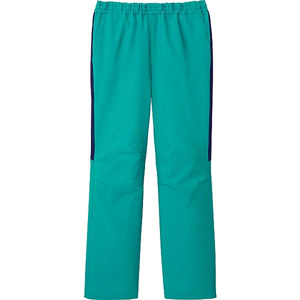 ミズノ ユナイト スクラブパンツ(男女兼用) エメラルドグリーン 5L MZ0091 医療白衣 1枚 (取寄品)