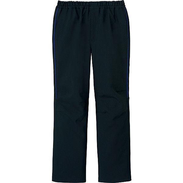 ミズノ ユナイト スクラブパンツ(男女兼用) ブラックブルー 4L MZ0093 医療白衣 1枚 (取寄品)
