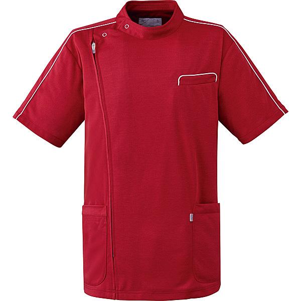 ミズノ ユナイト ケーシージャケット(男女兼用) ワイン 4L MZ0094 医療白衣 1枚 (取寄品)