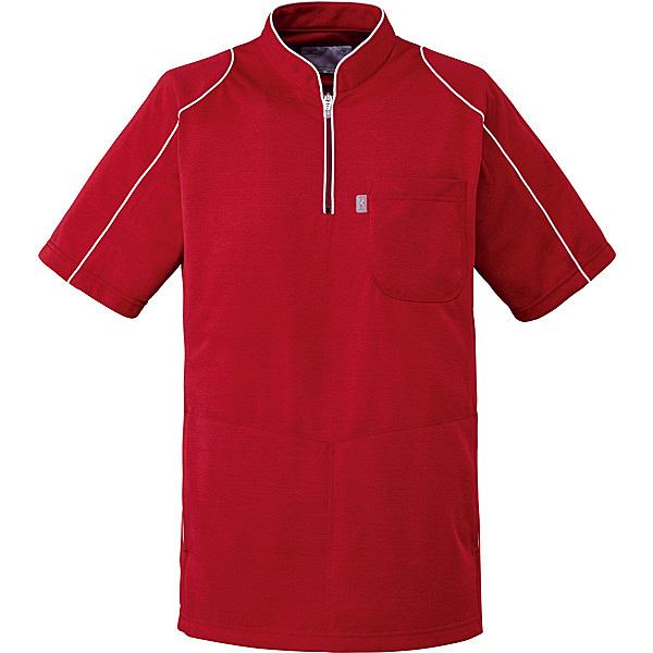 ミズノ ユナイト ケーシージャケット(男女兼用) ワイン LL MZ0095 医療白衣 1枚 (取寄品)