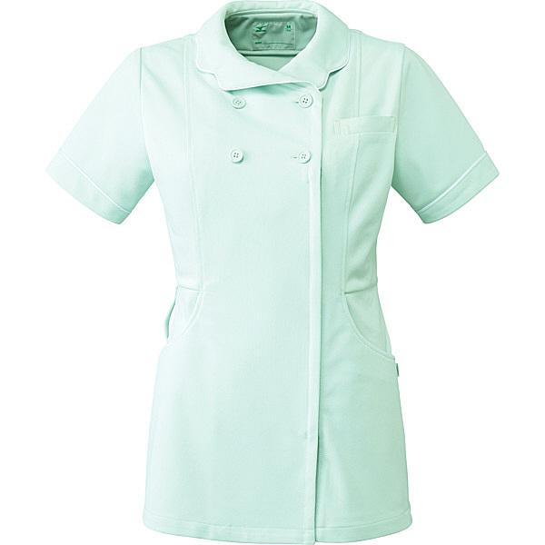 ミズノ ユナイト ジャケット(女性用) ペイルグリーン L MZ0098 医療白衣 ナースジャケット 1枚 (取寄品)