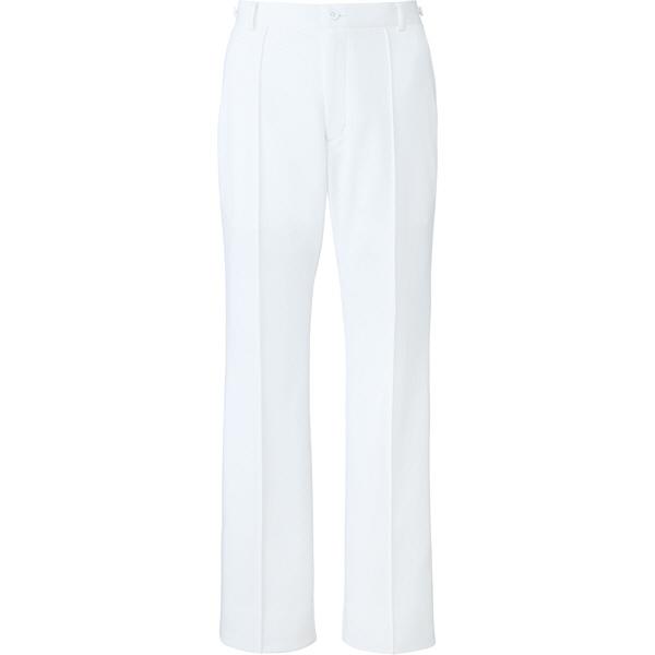 ミズノ ユナイト パンツ(女性用) ホワイト 4L MZ0099 医療白衣 ナースパンツ 1枚 (取寄品)