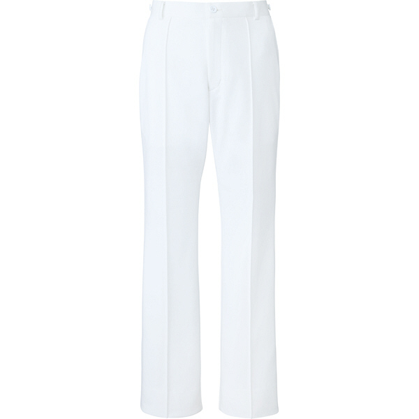 ミズノ ユナイト パンツ(女性用) ホワイト 5L MZ0099 医療白衣 ナースパンツ 1枚 (取寄品)