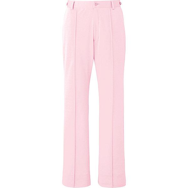 ミズノ ユナイト パンツ(女性用) ピンク L MZ0099 医療白衣 ナースパンツ 1枚 (取寄品)