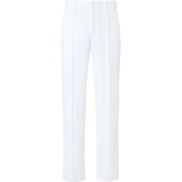 ミズノ ユナイト パンツ(男性用) ホワイト M MZ0100 医療白衣 メンズパンツ 1枚 (取寄品)