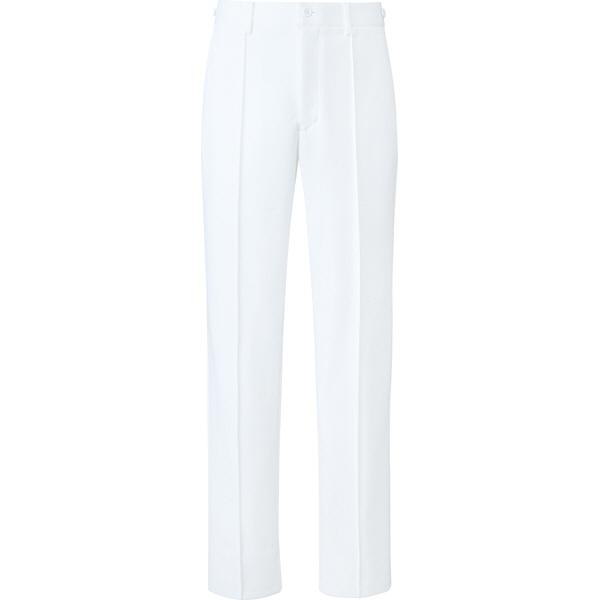 ミズノ ユナイト パンツ(男性用) ホワイト S MZ0100 医療白衣 メンズパンツ 1枚 (取寄品)