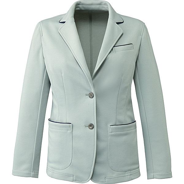 ミズノ ユナイト ジャケット(女性用) グレー LL MZ0101 医療白衣 ナースジャケット 1枚 (取寄品)