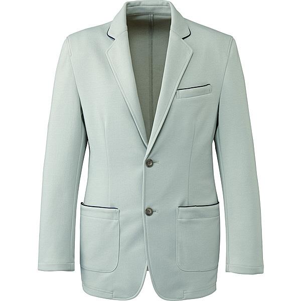 ミズノ ユナイト ジャケット(男性用) グレー S MZ0102 医療白衣 1枚 (取寄品)