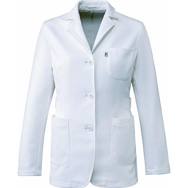 ミズノ ユナイト ジャケット(女性用) ホワイト M MZ0103 医療白衣 ナースジャケット 1枚 (取寄品)