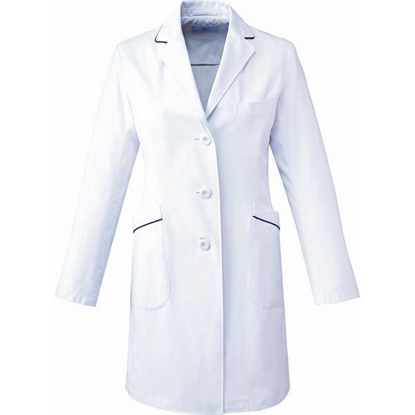 ミズノ ユナイト ドクターコート(女性用) ホワイト LL MZ0107 医療白衣 診察衣 薬局衣 1枚 (取寄品)