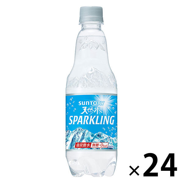 Lohaco 炭酸水 サントリー 南アルプス スパークリング 500ml 1箱 24本入