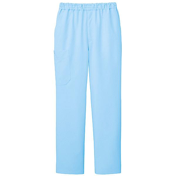 ミズノ ユナイト スクラブパンツ(男女兼用) サックス L MZ0052 医療白衣 1枚 (取寄品)
