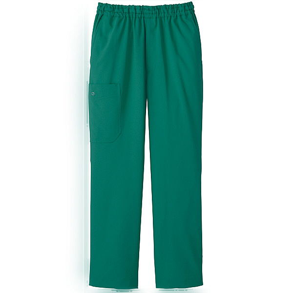 ミズノ ユナイト スクラブパンツ(男女兼用) グリーン LL MZ0052 医療白衣 1枚 (取寄品)