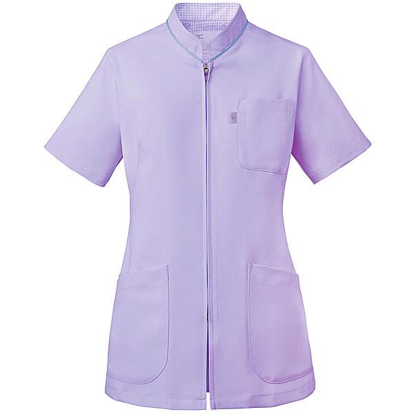 ミズノ ユナイト スクラブ(女性用) ラベンダー 3L MZ0086 医療白衣 レディススクラブ 1枚 (取寄品)
