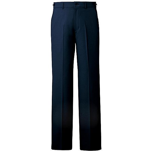 ミズノ ユナイト パンツ(男性用) ネイビー L MZ0088 医療白衣 メンズパンツ 1枚 (取寄品)