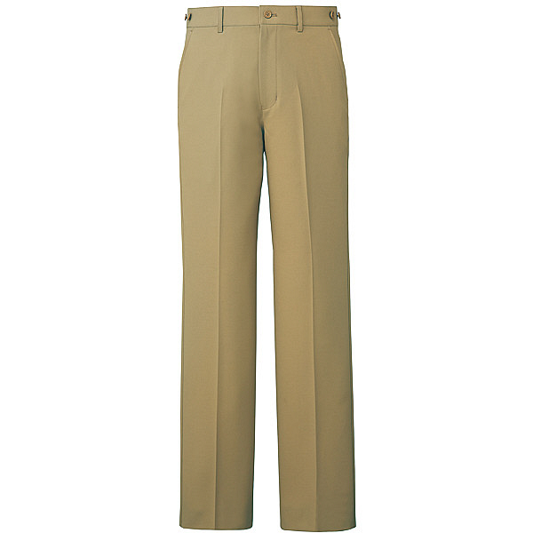ミズノ ユナイト パンツ(男性用) ベージュ LL MZ0088 医療白衣 メンズパンツ 1枚 (取寄品)