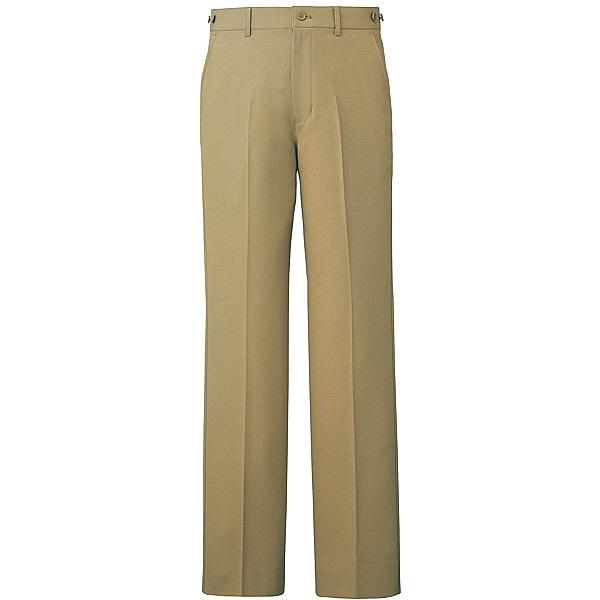 ミズノ ユナイト パンツ(男性用) ベージュ M MZ0088 医療白衣 メンズパンツ 1枚 (取寄品)