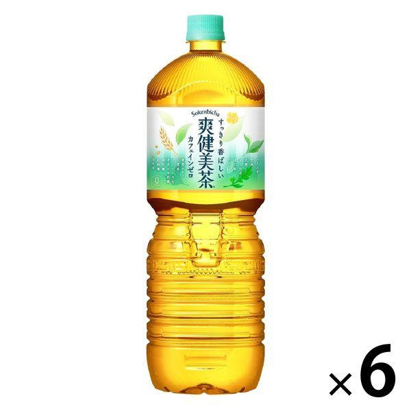 爽健美茶 2.0L 6本