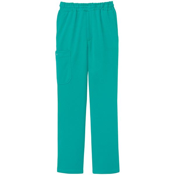 ミズノ ユナイト ニットスクラブパンツ(男女兼用) エメラルドグリーン LL MZ0085 医療白衣 1枚 (取寄品)
