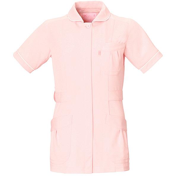 ミズノ ユナイト ジャケット(女性用) ピンク LL MZ0009 医療白衣 ナースジャケット 1枚 (取寄品)