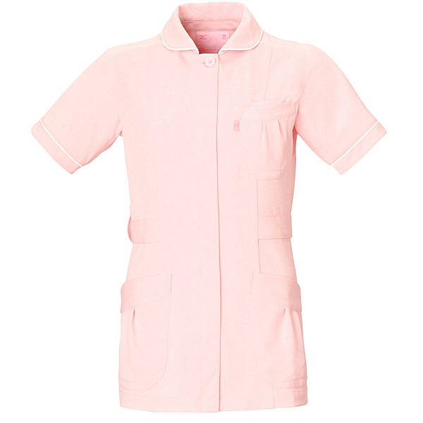 ミズノ ユナイト ジャケット(女性用) ピンク M MZ0009 医療白衣 ナースジャケット 1枚 (取寄品)