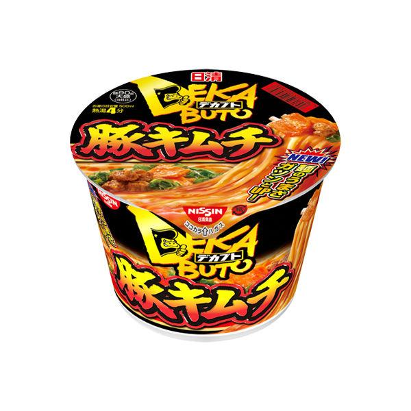 日清デカブト 豚キムチ 12食