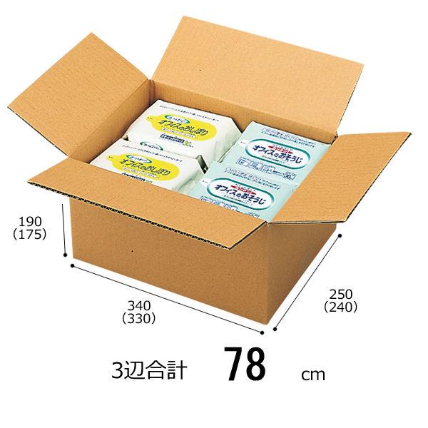 無地ダンボール箱SSサイズ(240枚)