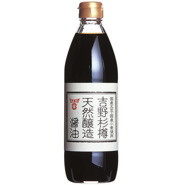 吉野杉樽天然醸造醤油 500ml