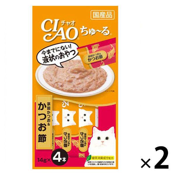 チャオちゅーる 宗田鰹&かつお節 8本